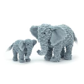 Jellycat Rumples Eddy Elephant Large - Knuffel Olifant (op=op)