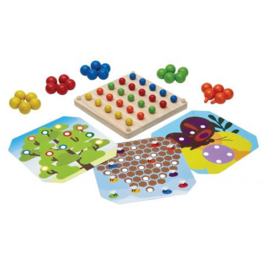 Plantoys Houten Creative Peg Board