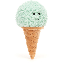 Jellycat Irresistible Ice Cream Mint - Knuffel IJsje