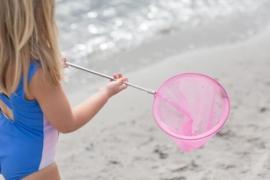 Scrunch Net Visnet - Roze
