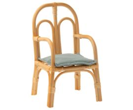 Maileg Rotan Stoel voor Knuffels - Chair Rattan Medium