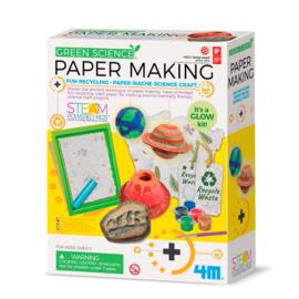 4M Kidzlabs Green Science - Papier Maken + 5jaar