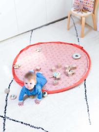 Play and Go Soft Speelgoedkleed en Opbergzak - Animal Faces