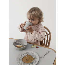 OYOY Kinderservies Set - Rabbit Bamboo Tableware Set