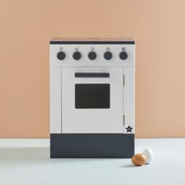 Kids Concept Houten Fornuis met Oven - Wit