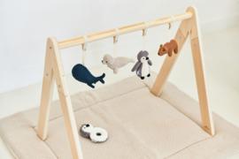 Jollein Babygym Speeltjes Polar (set van 4)