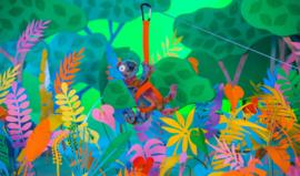 Jellycat Knuffel Kameleon - Colin Chameleon