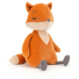 Jellycat Sleepy Fox - Knuffel Vos