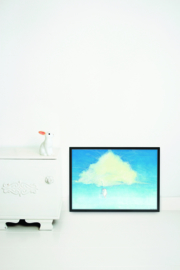 Kek Amsterdam Poster A2 - Climbing the Clouds (PS-019)