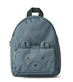 Liewood Rugzak Allan Backpack - Mr Bear Whale Blue