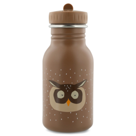 Trixie Drinkfles RVS Mr. Owl - Bruin (350 ml)