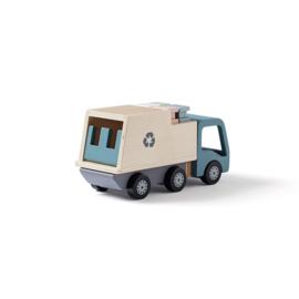 Kids Concept Blauwe Vuilniswagen - Aiden