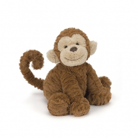 Jellycat Fuddlewuddle Monkey - Knuffel Aap