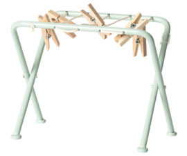 Maileg Droogrek Poppenhuis - Drying Rack with Pegs