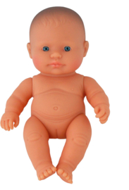 Miniland Babypop Europees - Girl (21 cm)