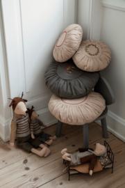 Maileg Kussen Rond Large - Sand Mushrooms