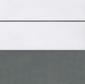 Jollein Ledikant Laken Velvet - Storm Grey (120 x 150 cm)