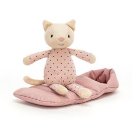 Jellycat Snuggler Knuffel Poes - Snuggler Cat (23 cm)