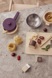 Kids Concept Houten Bistro Kook set - purple (10-delig)