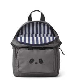 Liewood Allan Backpack - Panda Stone Grey