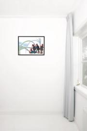Kek Amsterdam Poster A2 - Fiep Westendorp Brandweermannen (PS-015)