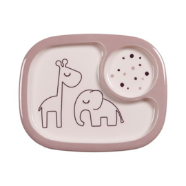 Done by Deer Yummi Mini Vakjesbord Dreamy Dots - Roze (6m+)
