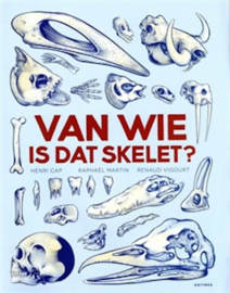 Uitgeverij Gottmer Van Wie is dat Skelet - Henri Cap (flapjesboek)