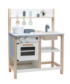 Kids Concept Houten Speelkeuken - Naturel / Wit