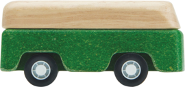 Plantoys Road System Houten Bus Groen + 3jr
