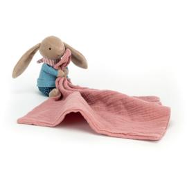 Jellycat Little Rambler Bunny - Riverside Knuffeldoek Konijn