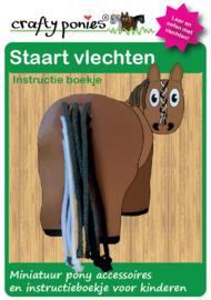 Crafty Ponies Vlecht Staart Bord incl. instructieboekje