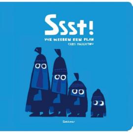 Uitgeverij Gottmer Sst! We hebben een plan - Chris Haughton (karton)