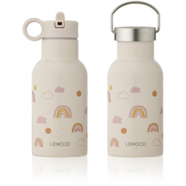 Liewood Anker Waterbottle Drinkfles - Rainbow Love Sandy (350ml)