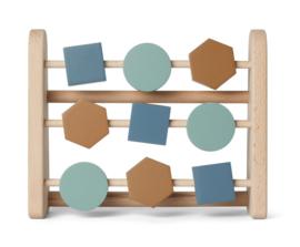 Liewood Telraam Abacus Astrid - Geometric Blue Multi Mix