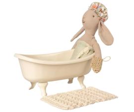 Maileg Badkuip Vintage Poppenhuis - Wit