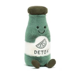 Jellycat Amuseable Knuffel Sapje Groen - Juice Detox (19 cm)