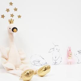 Jellycat Fancy Swan - Knuffel Zwaan