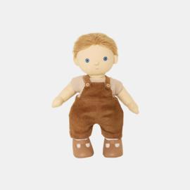 Olli Ella Dinkum Doll Esa Overalls Set - Poppenkleren Esa