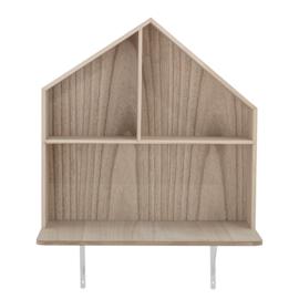 Bloomingville Bureau Plank Huis Lai - Hout