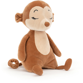 Jellycat Sleepy Monkey - Knuffel Aap