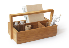 Side by Side Eiken Gereedschapskist Organizer - All You Need