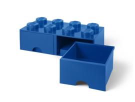 Lego Opbergbox met lade Brick 8 - Wit