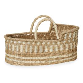 CamCam Poppen Mozes Basket - Naturel