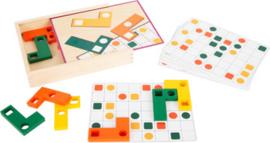 Small Foot Puzzel Tetris Geometrische Vormen + 4jr