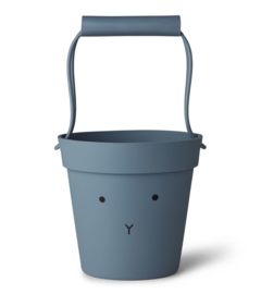 Liewood Linda Bucket Emmer - Rabbit Blue Wave