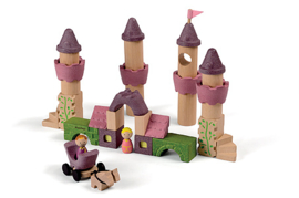 Plantoys Houten Fairy Tale Blocks - Sprookjes Blokken