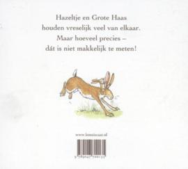 Uitgeverij Lemniscaat Raad eens hoeveel ik van je Hou - Sam McBratney (luxe kartonboek)