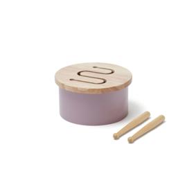 Kids Concept Houten Trommel Mini - Lila