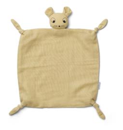 Liewood Agnete Knuffeldoek Muis - Mouse Wheat Yellow