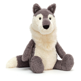 Jellycat Knuffel Wolf - Woodruff Wolf (27 cm)